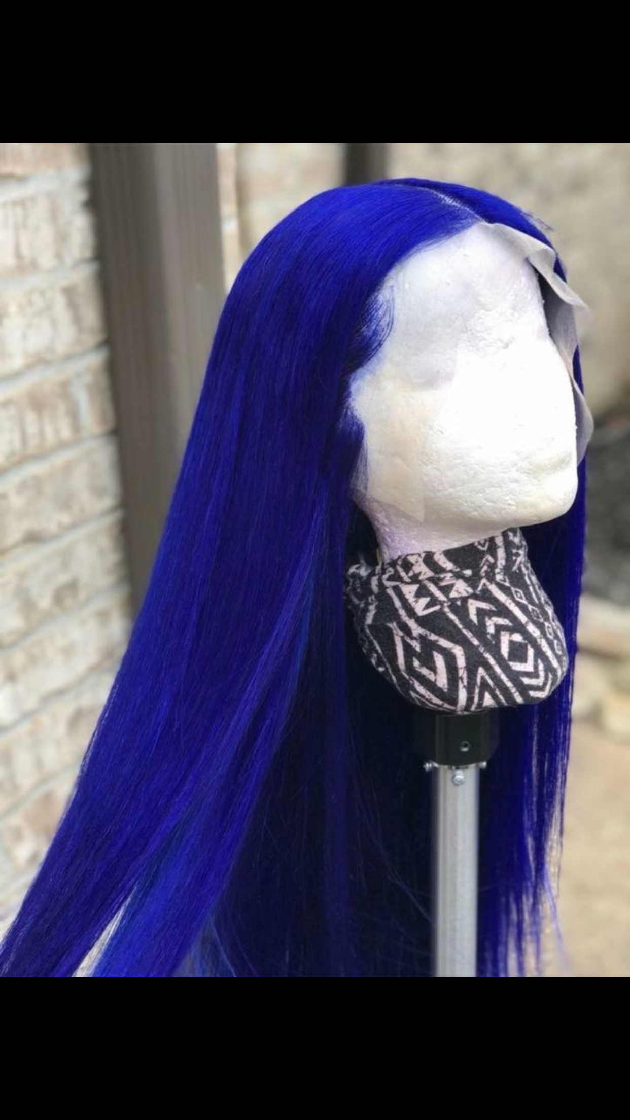 Royal blue hair to make any bad bitch look good  Hair  Pinterest