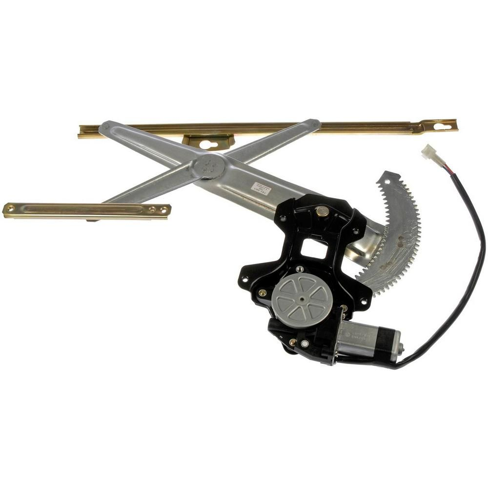 OE Solutions Power Window Regulator And Motor Assembly 1990-1991 Honda Civic 1.6L-741-561 - The Home Depot