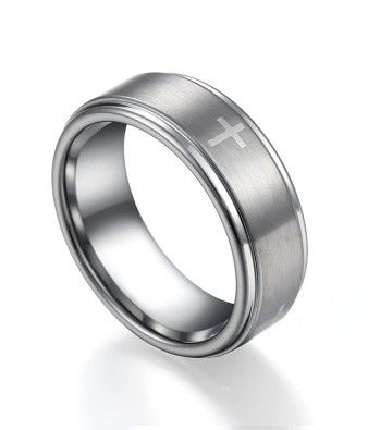 Women Men S Credendum Catholic Wedding Band In Tungsten Carbide Tc 857