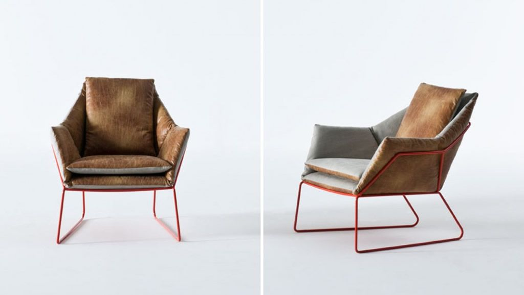 Brown Seating Furniture Design Of New York Chair By Sergio Bicego