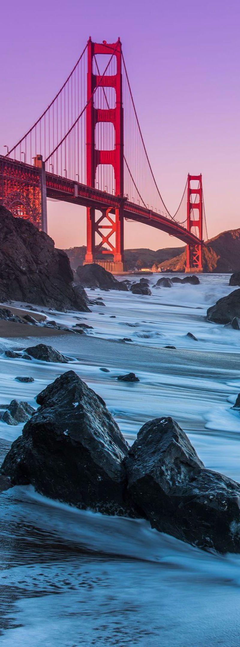 Golden Gate Bridge San Francisco California We ︎