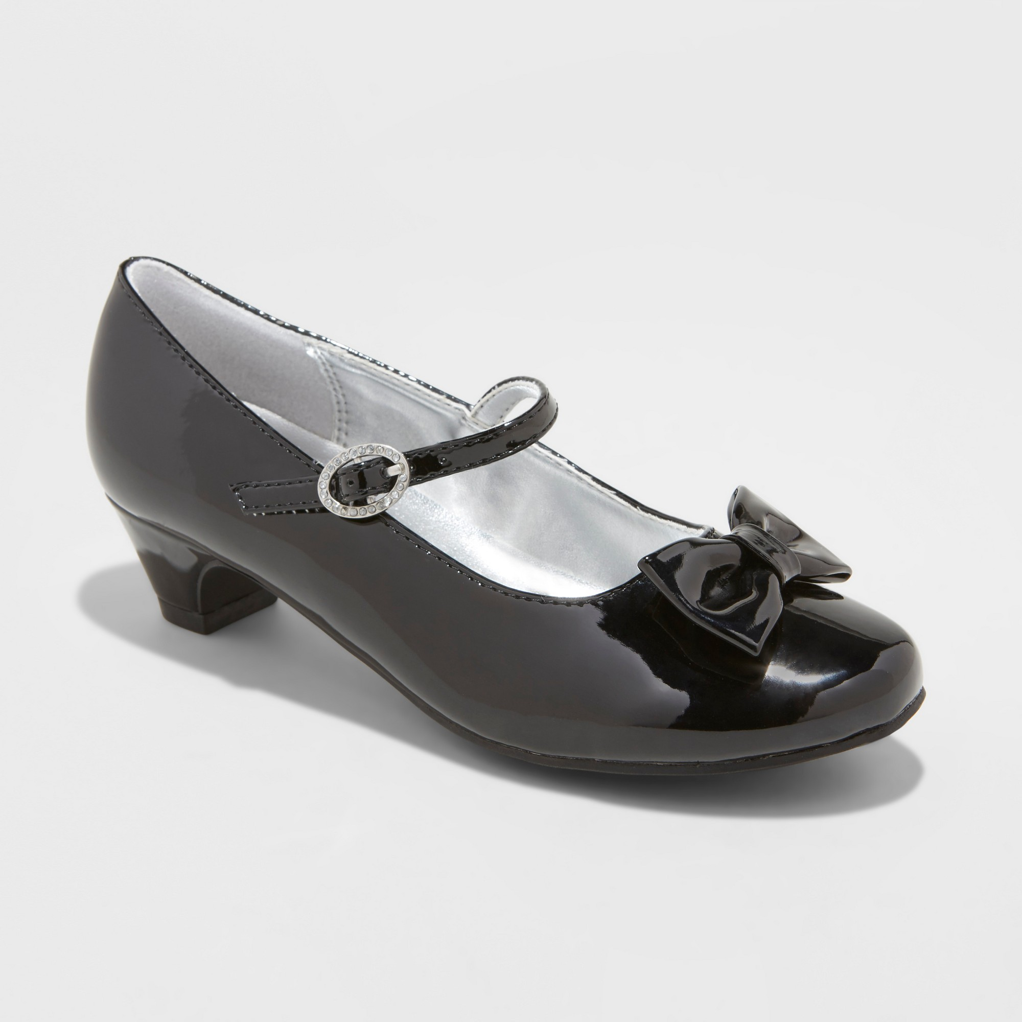 709b71648f5 Girls  Flowers by Nina Trevina Mary Jane Shoes - Silver 4