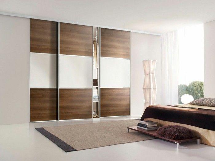 Les Portes De Placard On Vous Donne 45 Idees En Photos Avec Images Porte Placard Placard Design Placard Chambre A Coucher