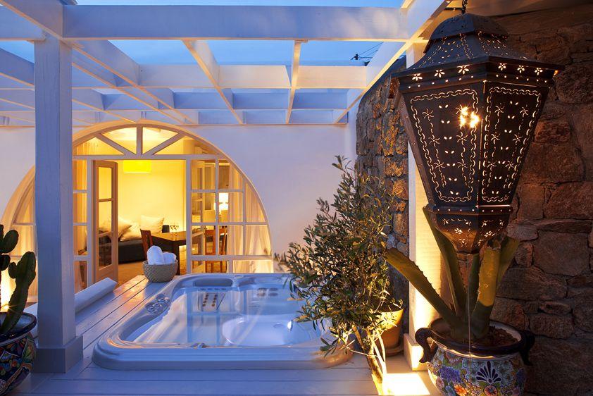 Greek Philosophy Luxury 5 Star Hotel In Mykonos Luxury Villa