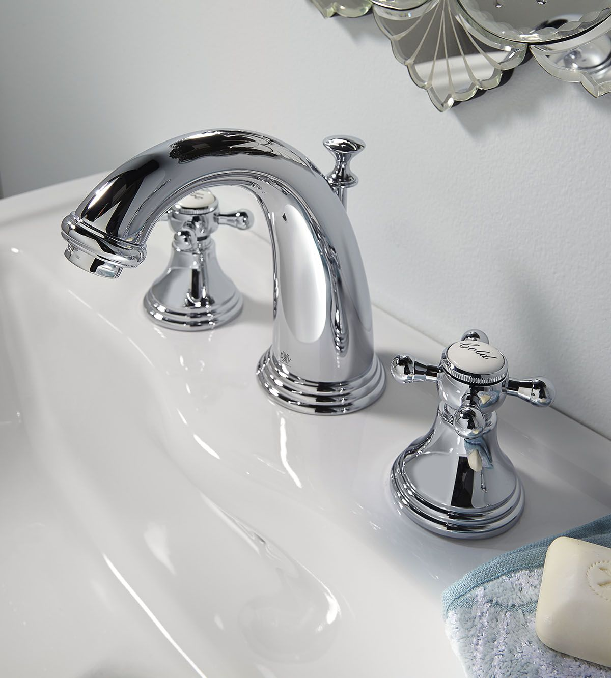 Ashbee Widespread Bathroom Faucet with Cross Handles by DXV #DXV ...