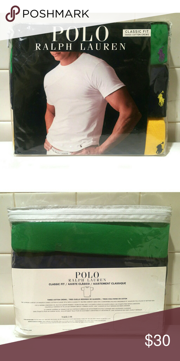 Sold Polo Ralph Lauren T Shirts Pack Nwt My Posh Closet
