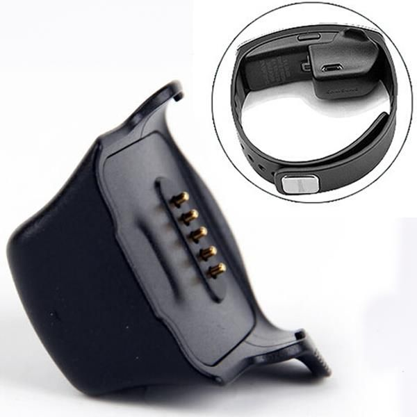 Charger Charging Dock Cradle For Samsung Galaxy Gear Fit R350 Smart Watch Black Fossil Smart Watch Samsung Smart Watch Smart Charger