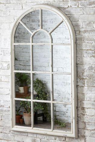 Buy Vintage Window Mirror From The Next Uk Online Shop Window Mirror Arched Window Mirror Mirrors Uk