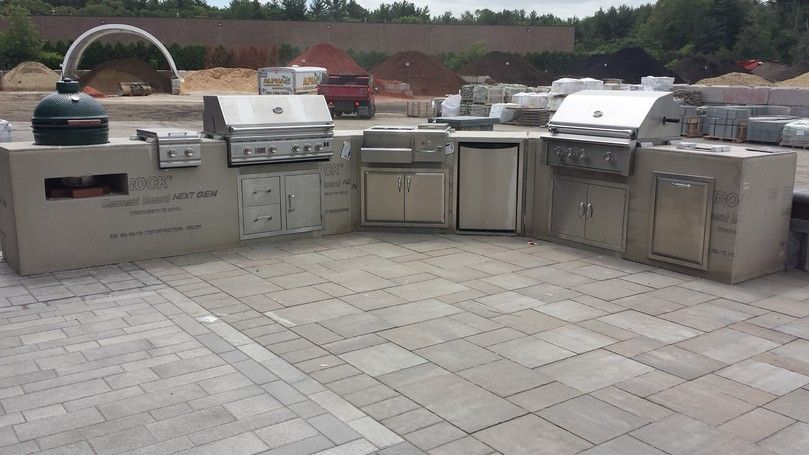 Outdoor Modular Kitchen Cabinet Systems - For an Outdoor Living Space