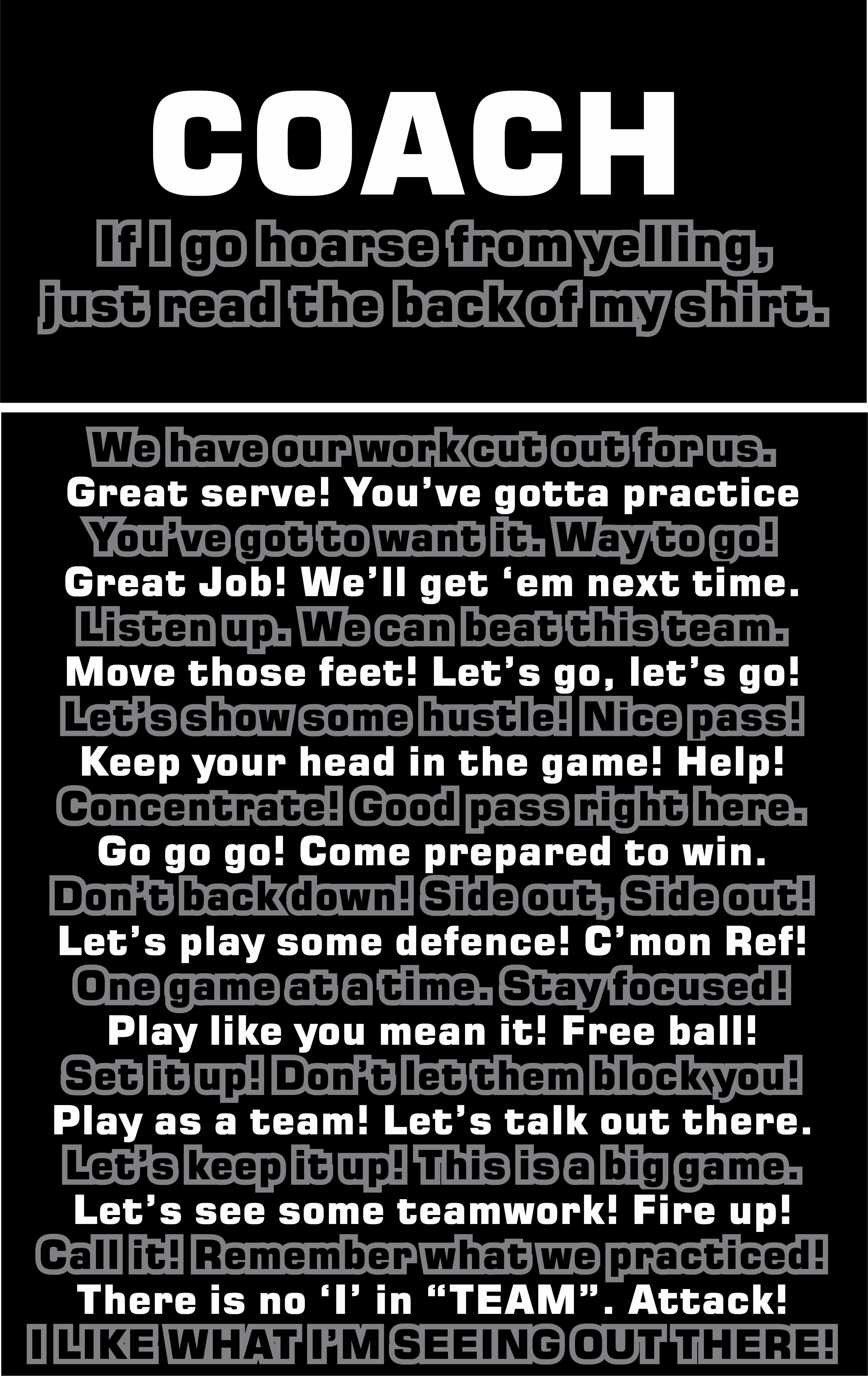 For The Volleyball Coach Volleyball Humor Coaching Volleyball Volleyball Quotes