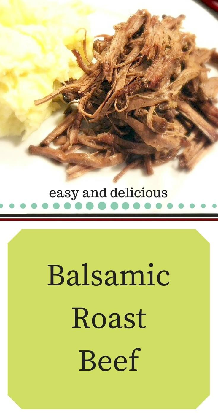 Balsamic Roast Beef is a new favorite