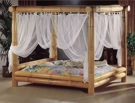 Bamboo Bed Frame With Images Bamboo Bedroom Bamboo Bed Frame