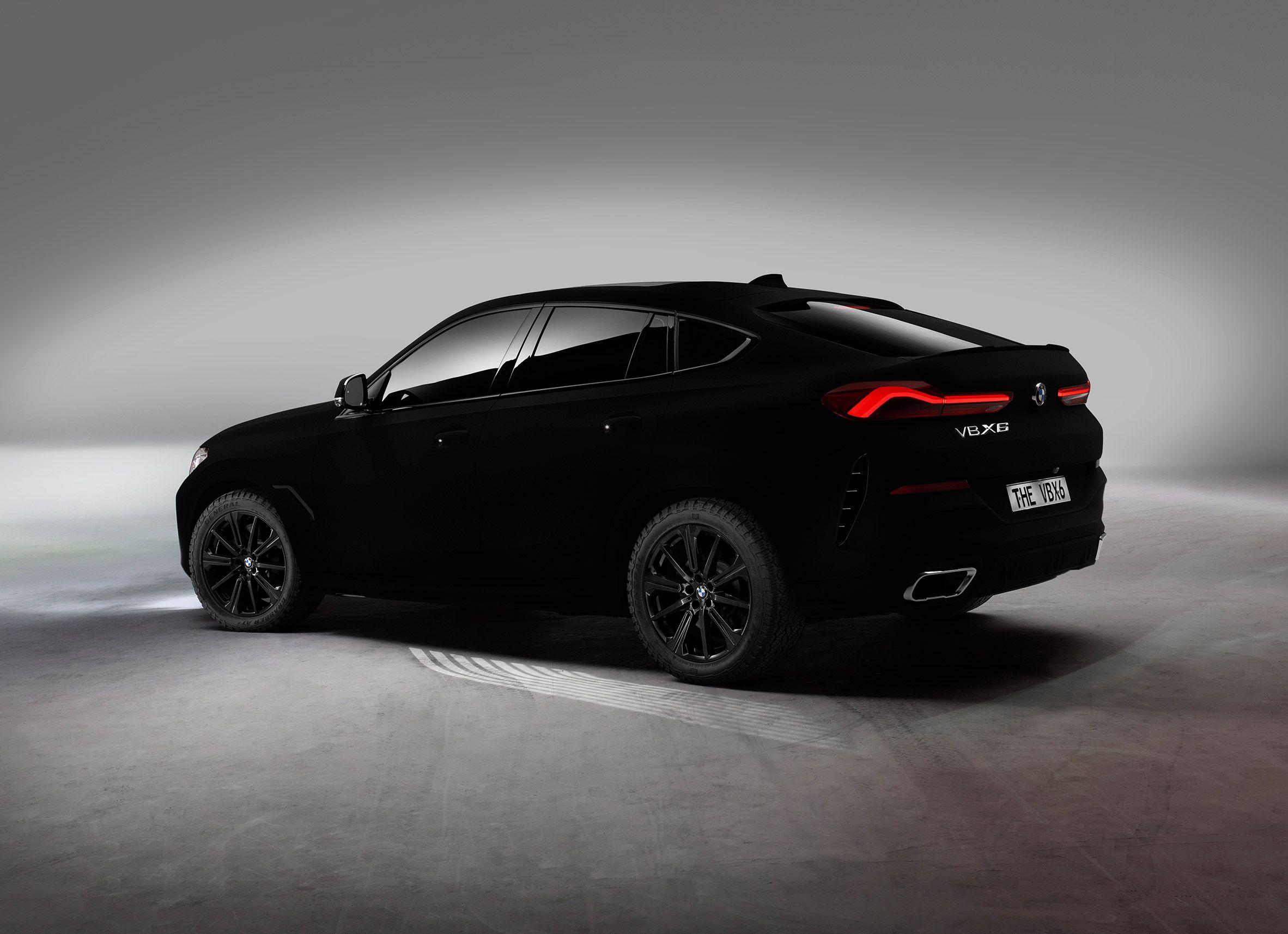Bmw Unveils Blackest Black Bmw Vbx6 Car Sprayed With Vantablack