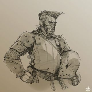 Borislav Mitkov - Illustration/Concept Art: A Dude with attitude :)