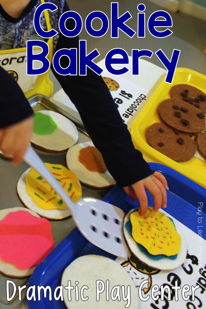 Cookie Shop And Bakery Dramatic Play Center Special Ed Cirriculum