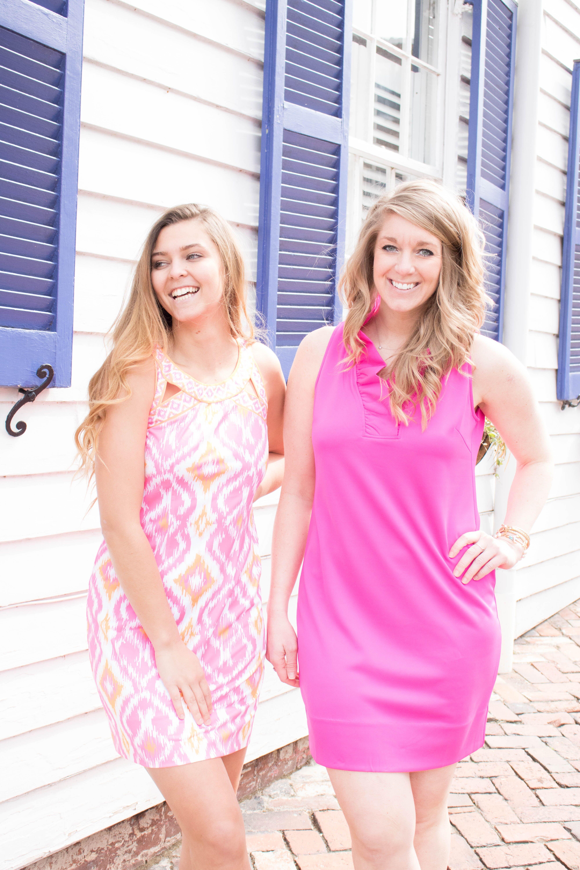 d9e23a0ff2b Gretchen Scott Isosceles Jersey Dress - Kitt Ikat - Pink in 2019 ...