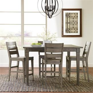 Vogue Counter Height Dining Table I Riverside Furniture