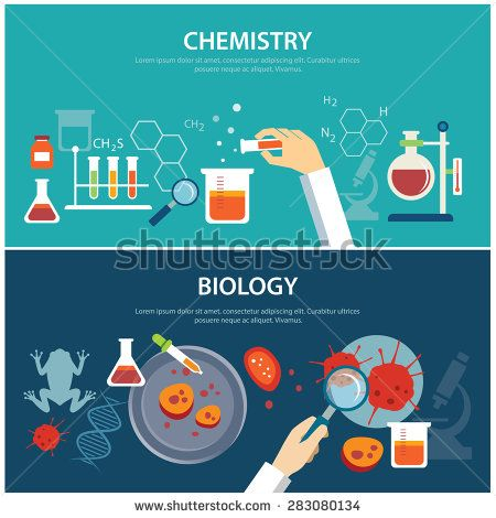 Chemistry and biology education concept stock vector chemistry chemistry and biology education concept stock vector ccuart Gallery