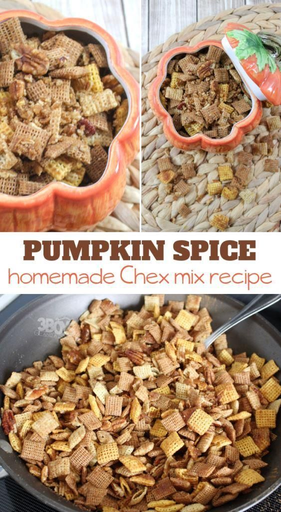 Pumpkin Spice Chex Mix images