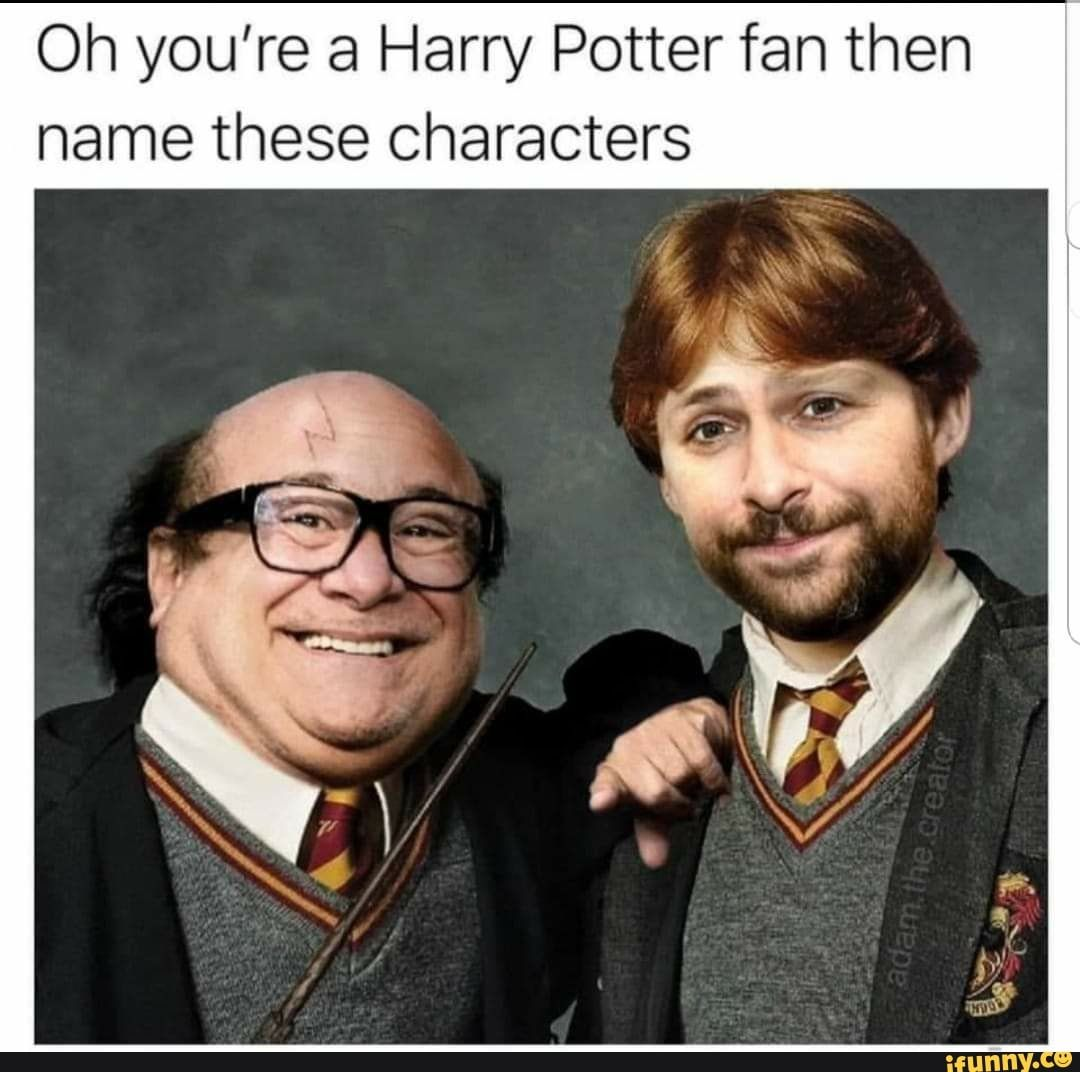 Oh You Re A Harry Potter Fan Then Name These Characters Ifunny Harry Potter Memes Hilarious Harry Potter Fan Harry Potter