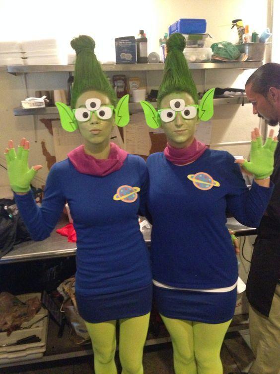 Toy Story Alien Kostum Selber Machen Karneval Kostum