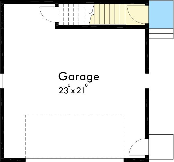 Plan 8182LB: Carriage House In The Woods