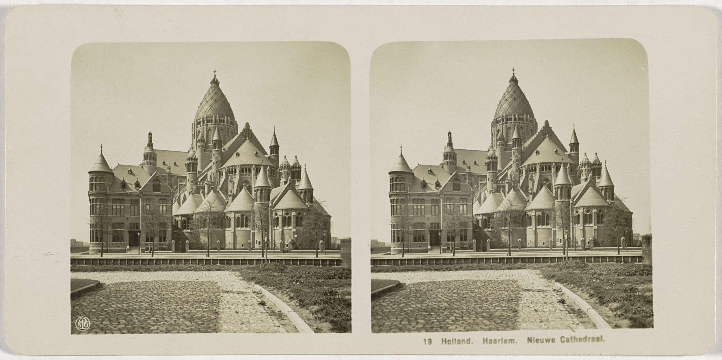 Holland. Haarlem. Nieuwe Cathedraal, NGP, 1900 - 1940