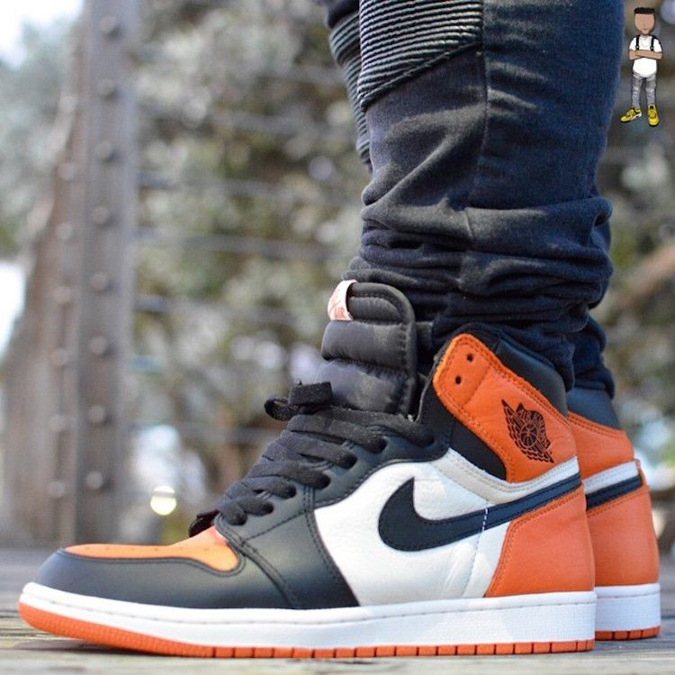 3a13d22c2f8 Air Jordan 1 Retro High OG Shattered Backboard On-Foot Preview & Release  Date