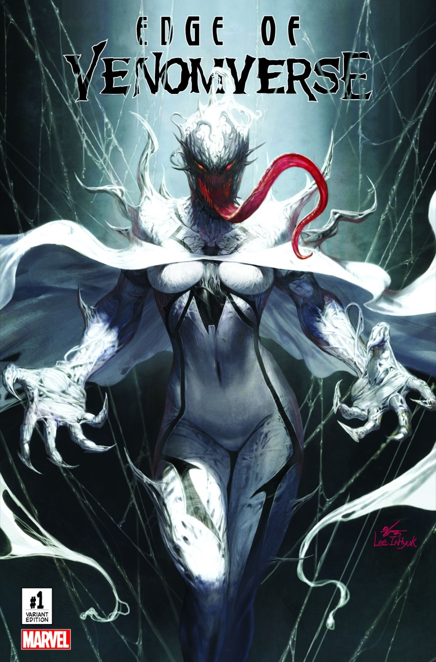 Edge of Venomverse #1 (2017) ComicXposure Exclusive Variant Cover B by InHyuk Lee