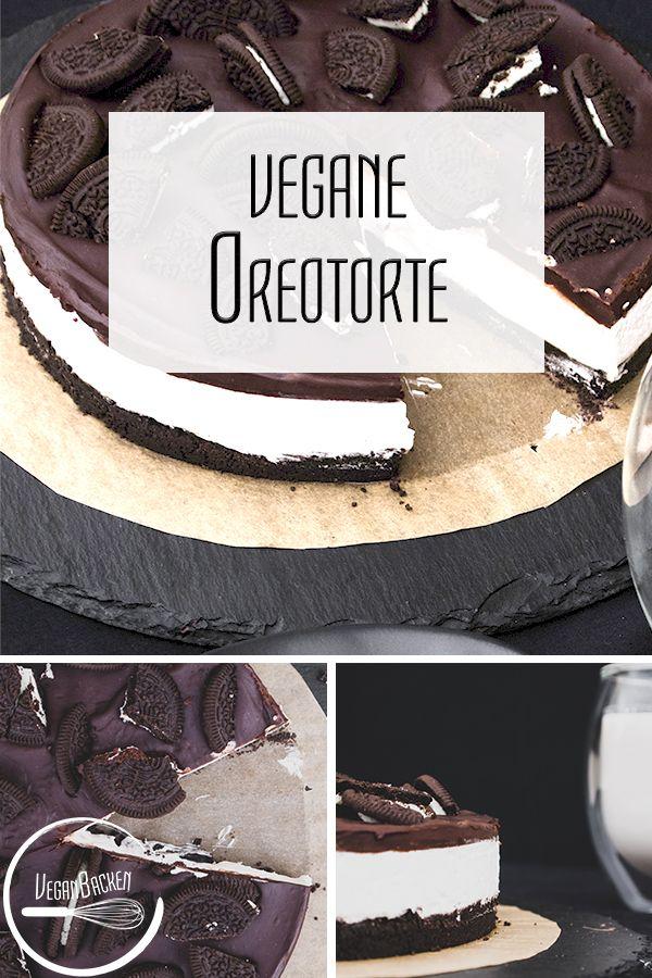 Vegane Oreo-Torte
