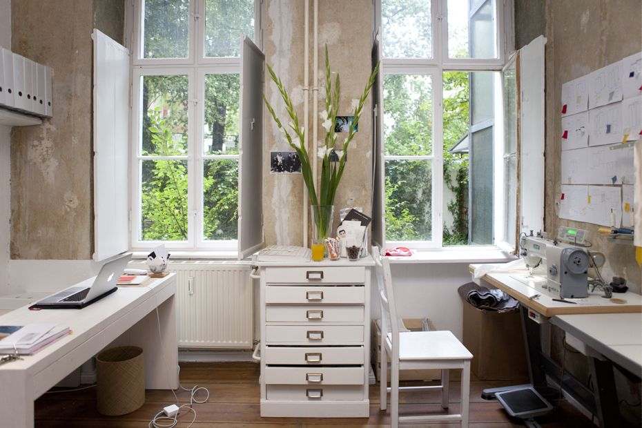 Hien Le — Fashion Designer, Apartment and Studio, Berlin-Kreuzberg.