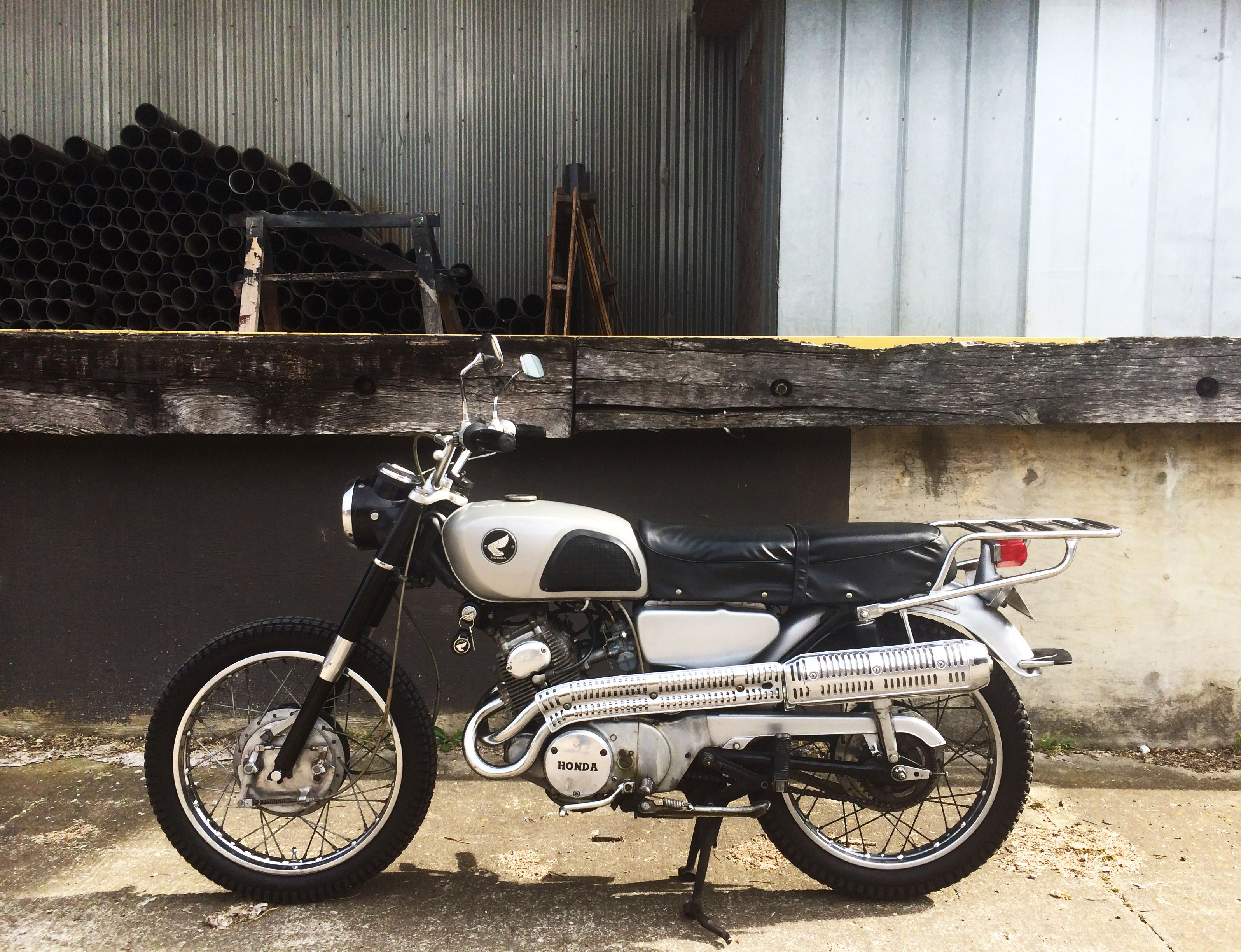 for sale - our 1966 honda cl160 scrambler | nashville, tn - link