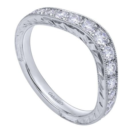 Gabriel Ny Engagement Rings Engagement Jewelry White Gold Diamonds Womens Wedding Bands Engagement Jewelry