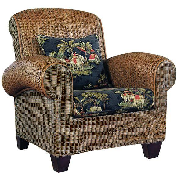 Havana Club Chair By Padmau0027s Plantation Wicker Rattan Furniture Co