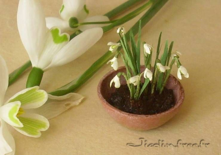 how to: snowdrops (link to tutorial)