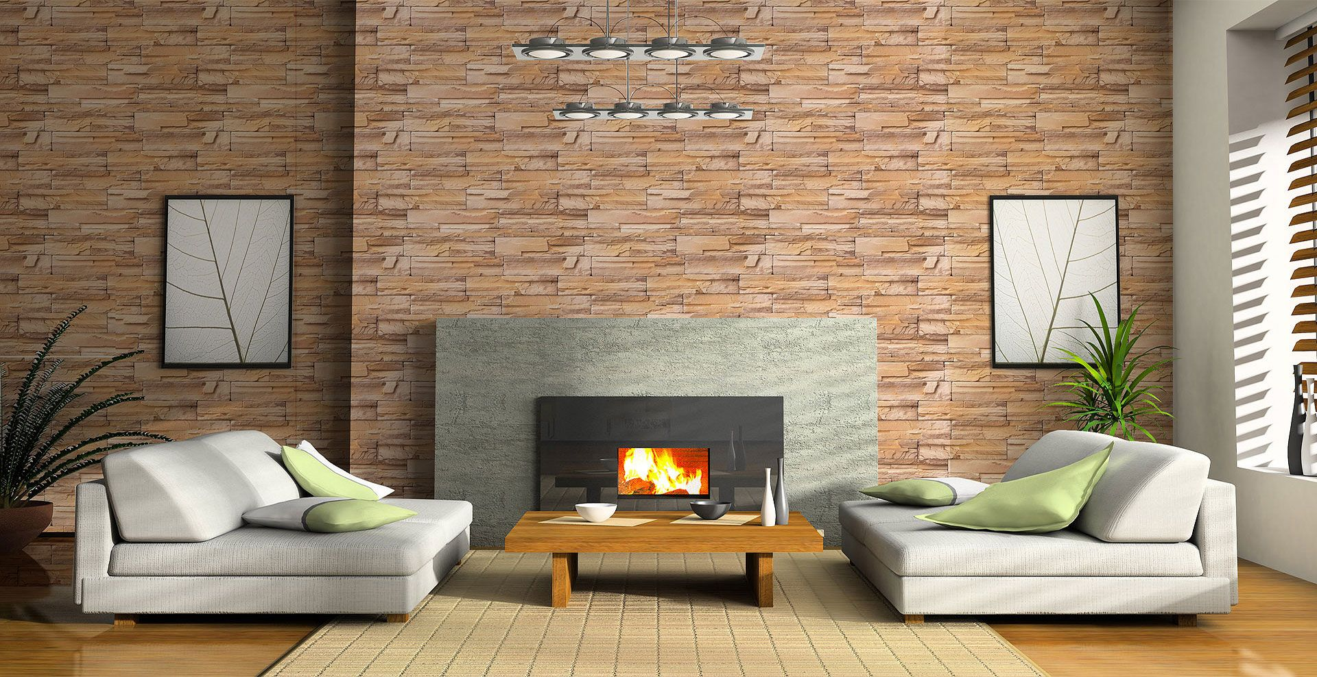 Decowall Is The New Self Adhesive Wallcovering It S Waterproof It Comes In Rolls Of 60cm Wide X 5m Long Diy Wallpaper Stone Wallpaper Peelable Wallpaper