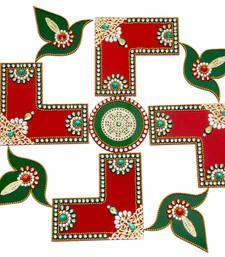 Rangoli Designs Diwali Buy Acrylic Swastik L Shape Rangoli