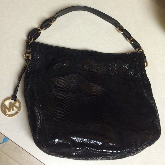 Michael Kors Black Michael Kors Bags Shoulder Bags