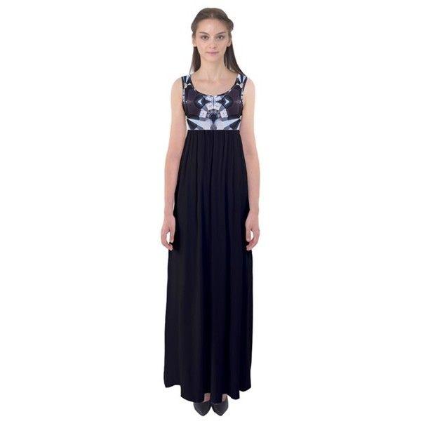 black velvet- annabellerockz Empire Waist Maxi Dress ($39) ❤ liked on Polyvore featuring dresses, short empire waist dresses, velvet maxi dress, maxi dresses, tall maxi dresses and short length maxi dresses