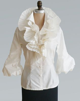 White Ruffle Blouse REV | My favorite things | Pinterest | Colors ...