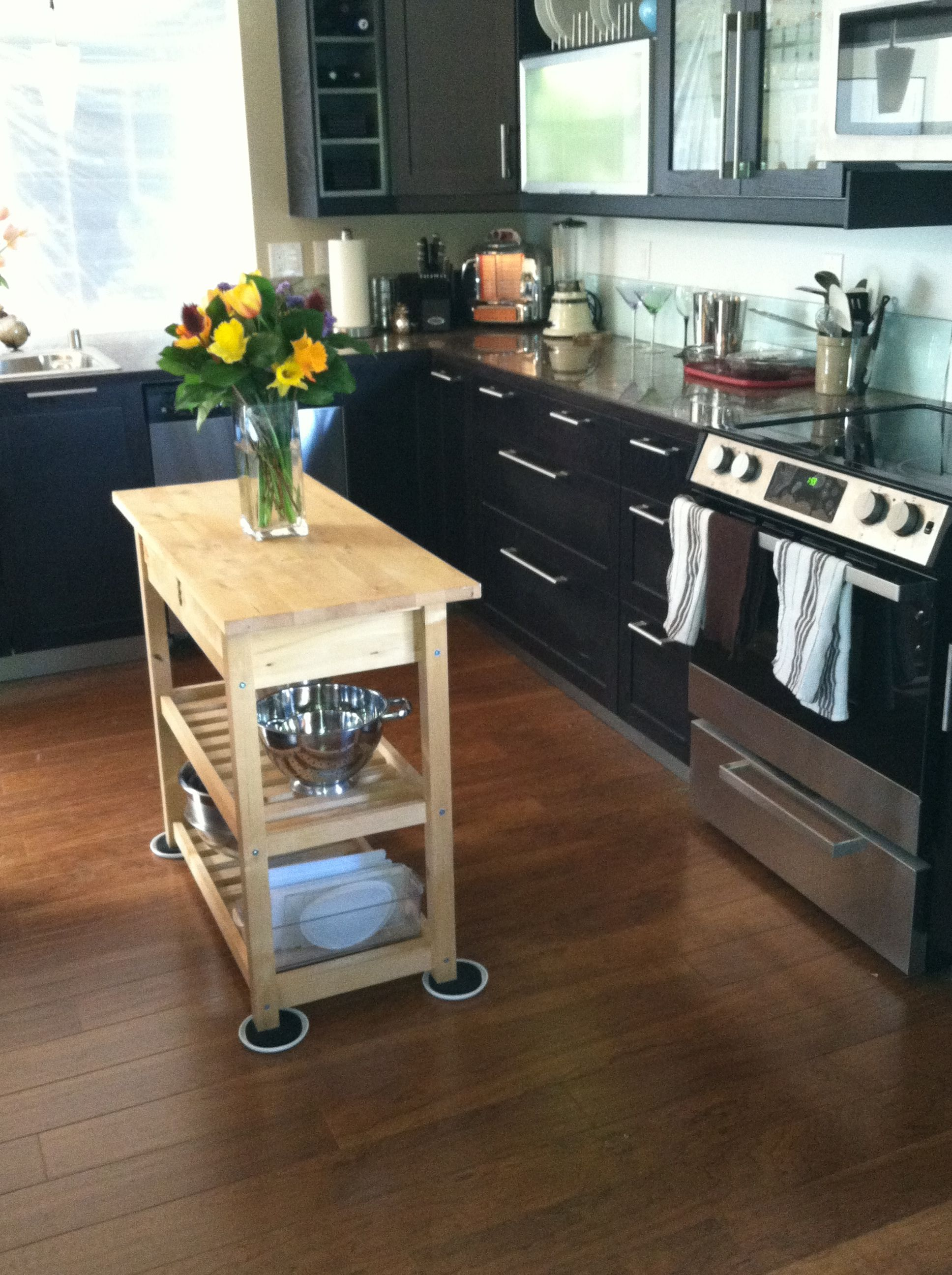 My kitchen remodel all ikea except for floor which was costco
