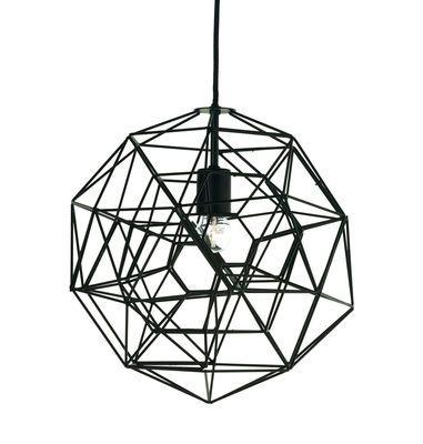 Suspension Hexa plex Small ˜ 36 cm Noir Pols Potten