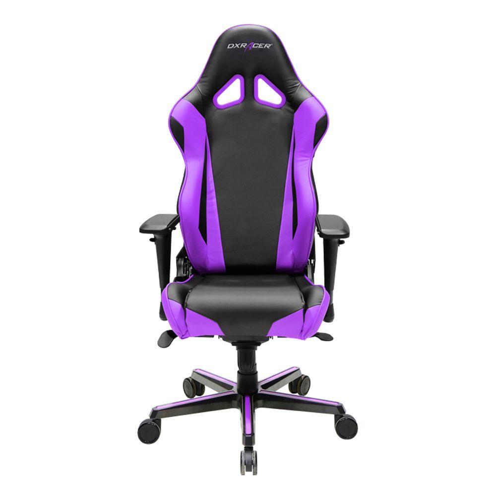 DXRacer OHRV001NV HighBack Racing Style Office Chair VinylPU