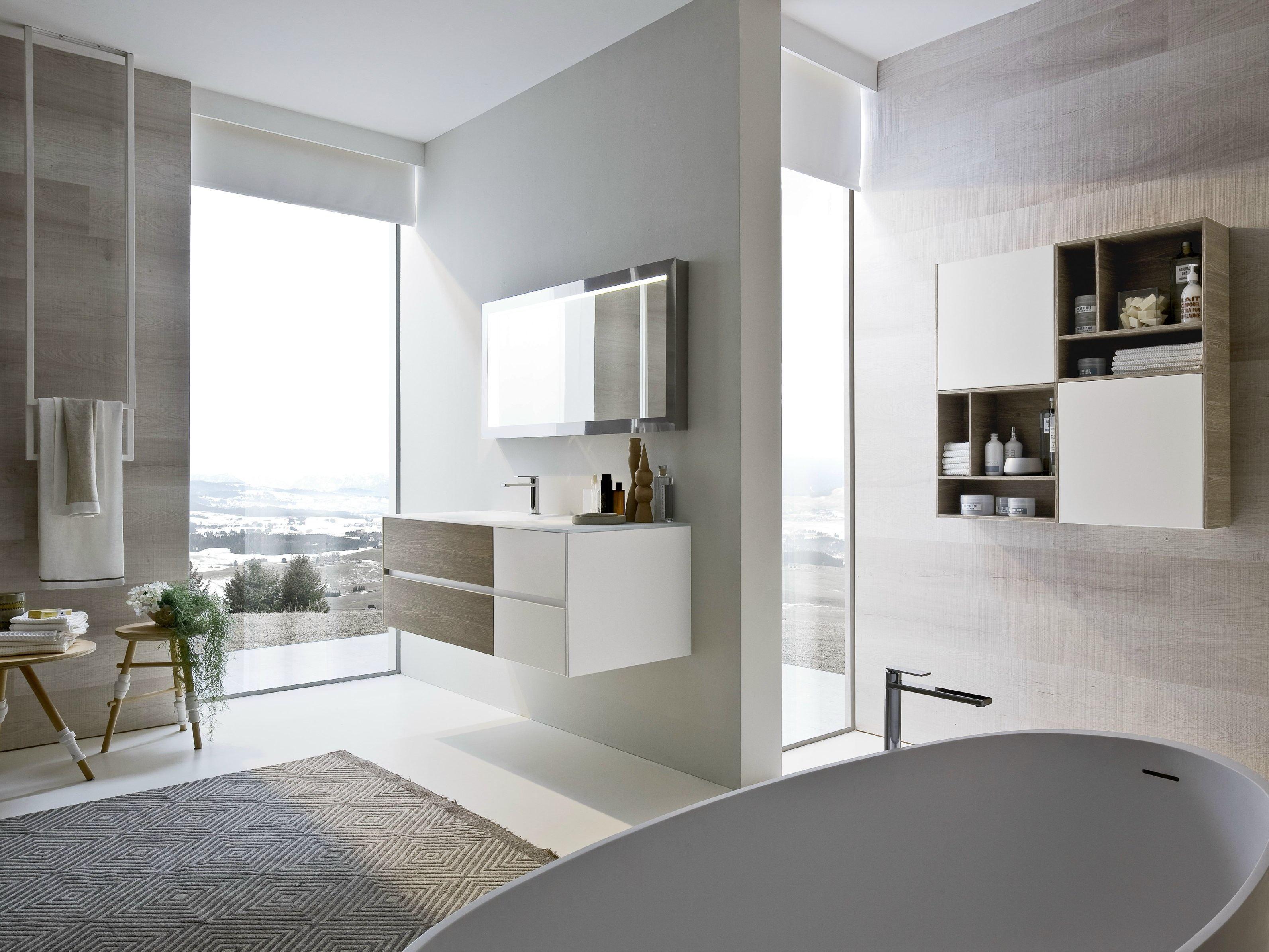 Nyù, la collezione di arredo bagno di IdeaGroup nata per disegnare nuovi spazi personali.