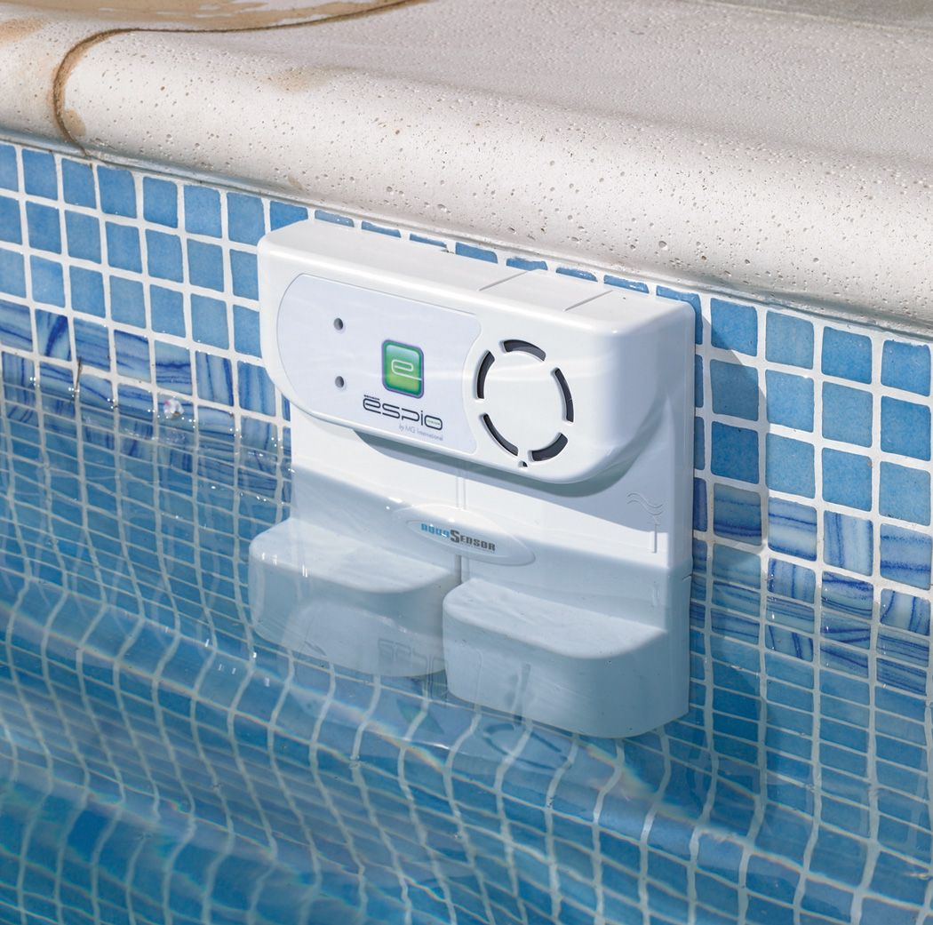 Alarms. You\'ve got a lot of options here: in-pool alarms, gate ...