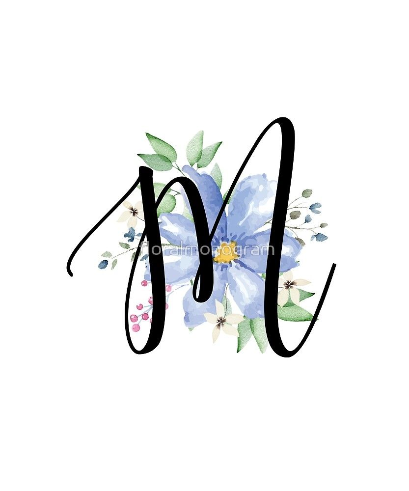 Pin On Floral Monogram Shirts Gifts