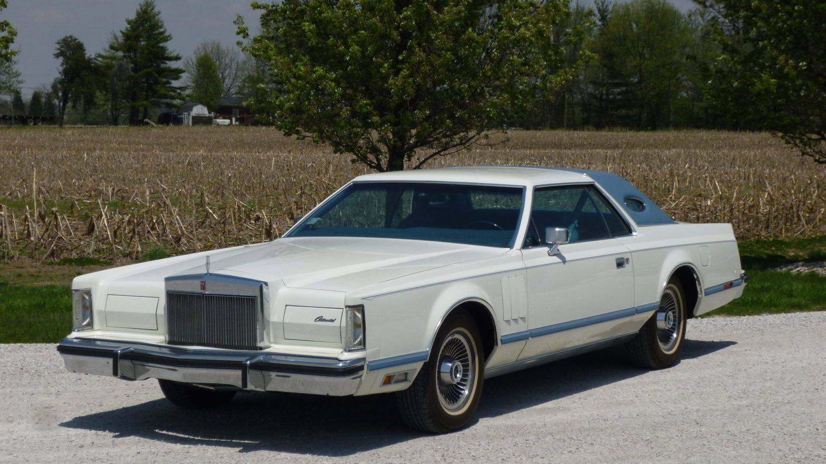 1978 Lincoln Continental Mark V Presented As Lot W120 1 At Indianapolis In Lincoln Continental Pontiac Catalina Lifted Ford Trucks