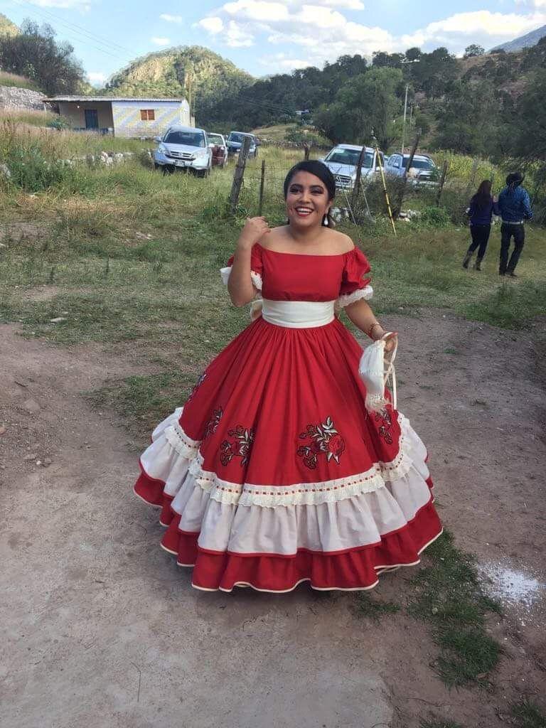 Vestido Mexicano Vestido Regional Vestido Bordado En 2019