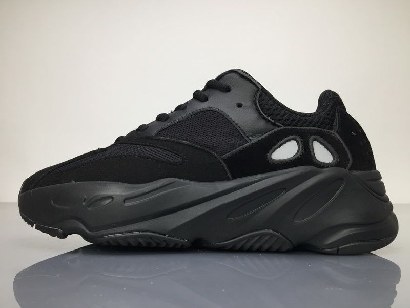online store 6b2f6 c0c21 Adidas Yeezy Wave Runner 700 B75576 Triple Black Real Boost ...