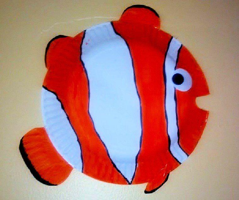 nemo paper plate craft - Google Search & nemo paper plate craft - Google Search | Arts and Crafts | Pinterest ...
